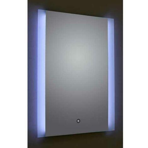 Verona Reflection Bathroom Mirror 800mm H x 600mm W LED Illuminated