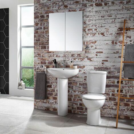 Verona Access Bathroom Suite 2 Tap Hole
