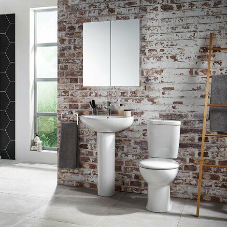 Verona Access Bathroom Suite 1 Tap Hole