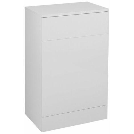 Cali Kass Back to Wall WC Unit 500mm Wide x 300mm Deep - Gloss White