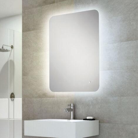 HiB Ambience 60 Steam Free Bathroom Mirror 800mm H x 600mm W