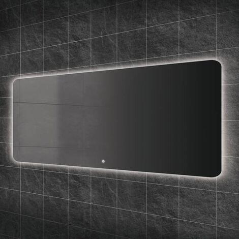 HiB Ambience 140 Steam Free LED Bathroom Mirror 600mm H x 1400mm W