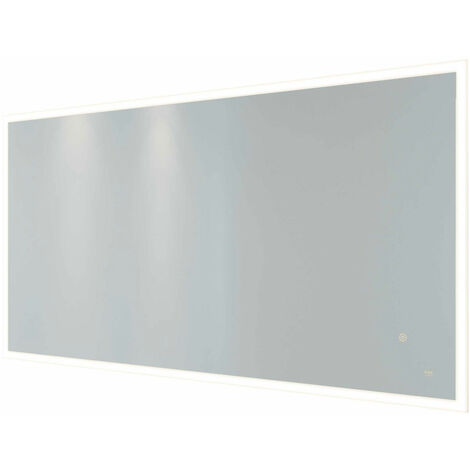 RAK Cupid Landscape LED Mirror with Switch and Demister Pad 600mm H x 1200mm W Illuminated