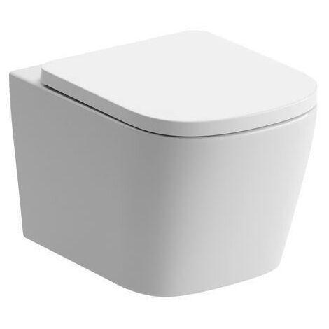 Signature Poseidon Wall Hung Rimless Toilet - Soft Close Seat