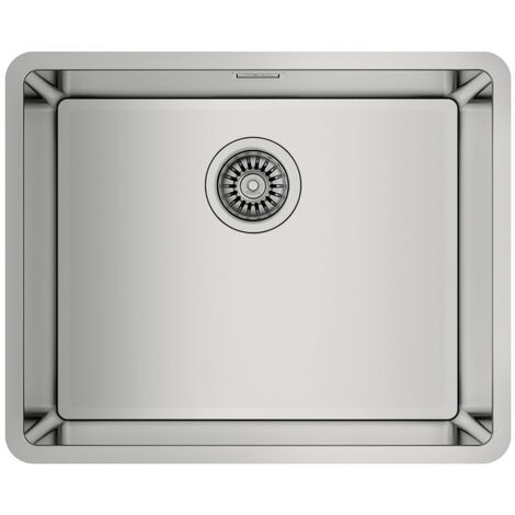 Signature Teka Linea 1.0 Bowl Undermount Kitchen Sink with Waste Kit 540mm L x 440mm W - Stainless Steel
