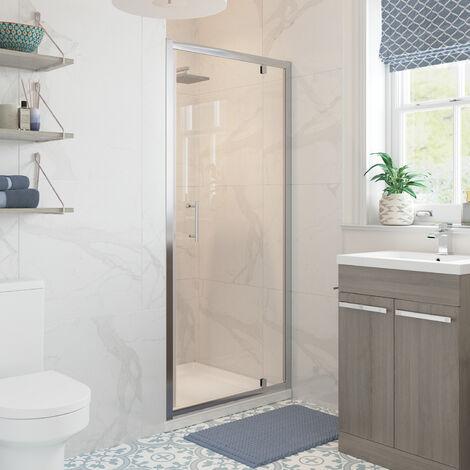 Signature Classix Pivot Shower Door 700mm Wide - 6mm Glass