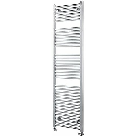 Heatwave Pisa Straight Heated Towel Rail - 1800mm H x 500mm W - Chrome