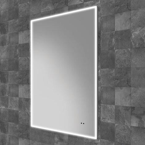 HiB Air 50 LED Bathroom Mirror 800mm H x 500mm W