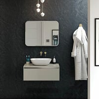 Signature Lumi LED Bathroom Mirror 800mm H X 600mm W