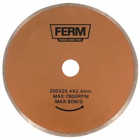 FERM Hoja de sierra de diamante - 200mm