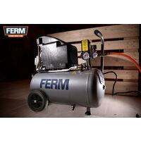 FERM Compresor 1100W - 230V - Set de 3 piezas