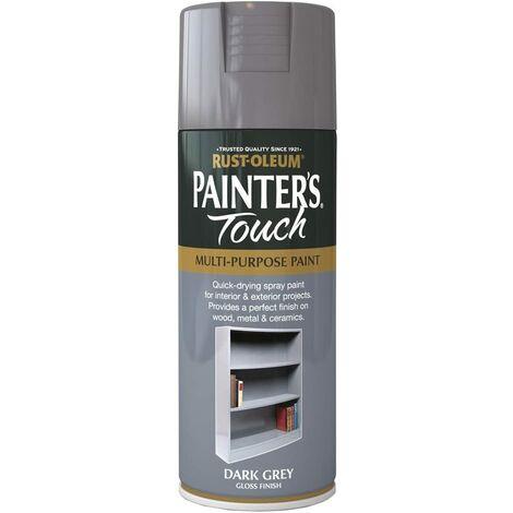 400ml Rust-Oleum Grey Matt Surface Primer Painters Touch Spray Multi Purpose