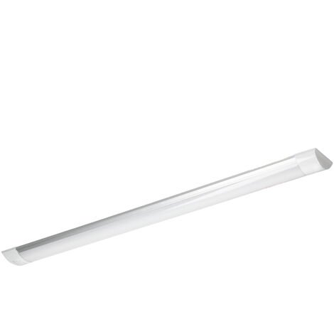 LED batten tube 28W 90cm blanc froid surface luminaire slim barre plafond