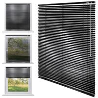 ECD Germany Aluminium Stores 80 x 175 cm - noir - ailettes en aluminium - protection visuelle, la lumière et les reflets - pour les fenêtres et portes -. Tous y compris le matériel de montage - store en aluminium store vénitien Rollo