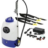 Pulvérisateur à dos pression sur batterie 18L pour épandage d'engrais jardin