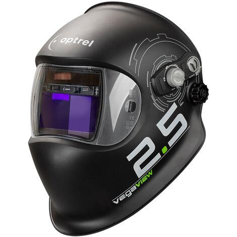 Optrel Vegaview 2.5 casco de soldador completamente automático, clase óptica: 1/1/1/2, oscurecimiento automático, parámetros ajustables