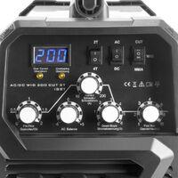 STAHLWERK AC/DC TIG 200 Plasma ST IGBT - Máquina de soldar TIG + MMA combi 200 Amp con cortador de plasma de 50 Amp CUT, apto para ALU, 7 años de garantía