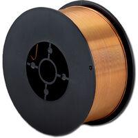 Hilo de soldadura STAHLWERK MIG/MAG Ø 1,0 mm, acero SG3 ER70S-6, bobina de 1kg D100 con mandril de 16mm, uso universal