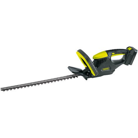 Draper 18V Cordless Li-Ion Hedge Trimmer With Battery Charger