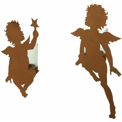 Kantenhocker Engel Fensterdeko Dekofigur Kinder Weihnachten XMas Figuren