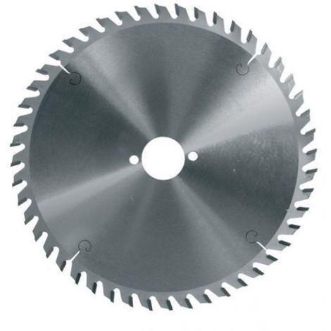 Lame circulaire carbure 160 mm alésage 20 - 48 dents négatives