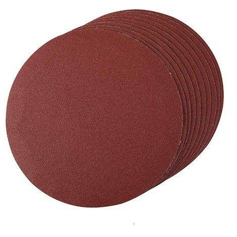 Disque abrasif velcro 150 mm, grain 120, le lot de 10, Qualité Pro Klingspor !