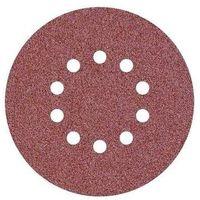 Disque abrasif velcro 10 trous 225 mm pour ponceuse girafe Grain 40 - Qualité Pro Klingspor (Lot de 10)