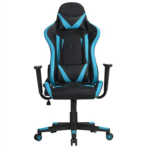 Racing Style Office Chair High Back PU Leather Desk Chair Ergonomic Gaming Chair with Lumbar Support
