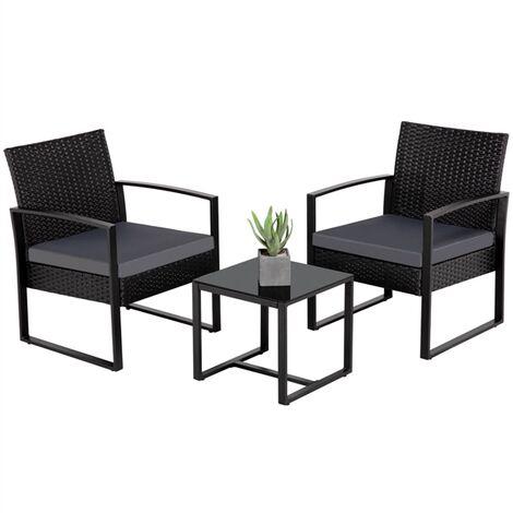 Garden Sectional Wicker Sofa Tea Table, Outdoor Wicker Patio Furniture Sets