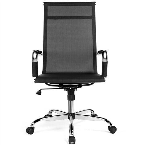 Executive High Back Office Chair Ergonomic Computer Desk Chair Swivel Mesh Office Chair