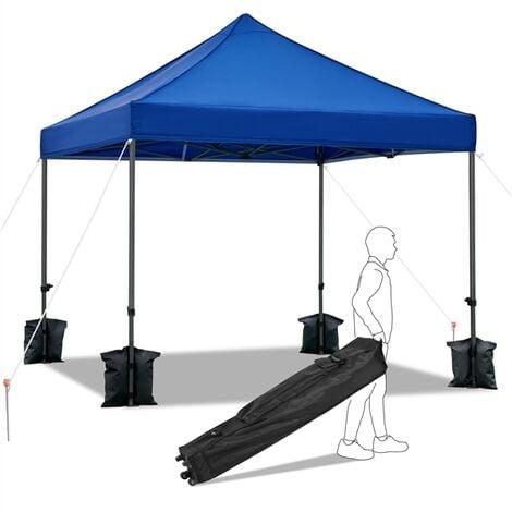 Pop Up Gazebo Waterproof Marquee Canopy Garden Wedding Party Tent 2x2M//3x3M
