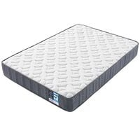 Double Mattress 4ft 6 Pocket Sprung Medium Firm Bed Mattress with Breathable Jacquard Knitted Fabric,Vacuum Packed,135x190x20cm