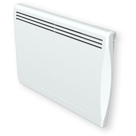 Cayenne radiateur à inertie fonte 1000W galbé LCD - Blanc