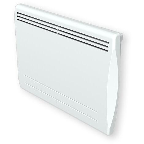Carrera radiateur à inertie - Coeur de chauffe pierre - LCD - 1000W - H455 - Blanc