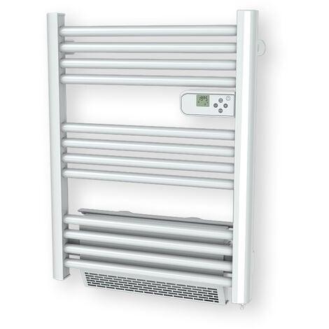 radiateur sèche-serviettes électrique avec soufflerie