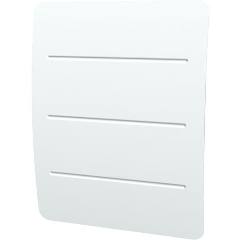 Carrera radiateur à inertie Fonte + Film 1000W - Horizontal et bombé - Blanc