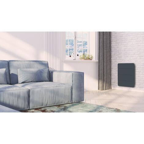 Cayenne radiateur à interie double coeur céramique + film 1000W plat Commande tactile nouvelle génération - Blanc