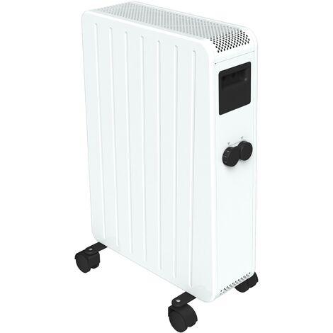 Carrera radiateur bain d'huile sec 1500W - Blanc