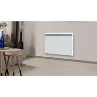 Cayenne radiateur à interie double coeur céramique + film 1500W LCD - Blanc