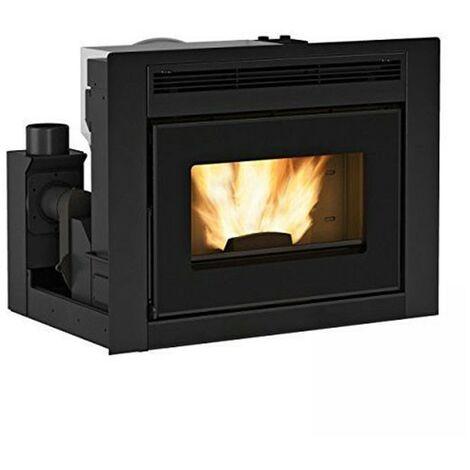 Confort Hydro L80 - cheminée, Insert à granulés à partir de 19 kw