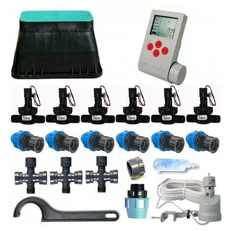 Kit d'irrigation Toro 6 zones 9V