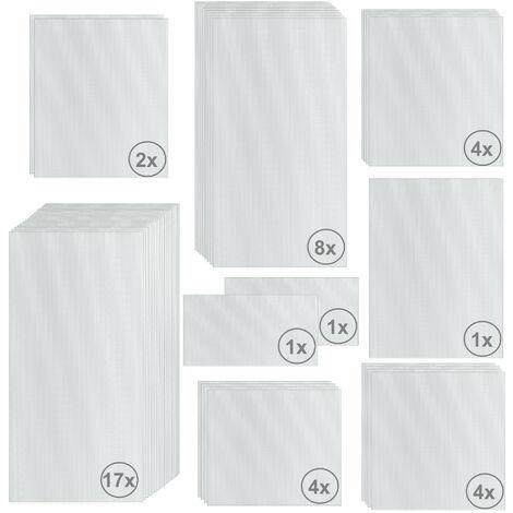 Zelsius Set de Plaques de Polycarbonate 42 pièces | Feuille double paroi