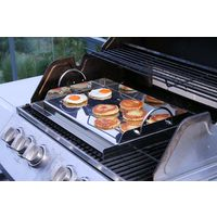 BBQ-Toro Plaque de grill universelle en acier inoxydable | 64 x 40,5 cm