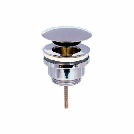 Válvula click-clack corta con rebosadero de Cabel
