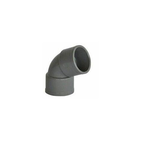 Codo de PVC gris de Crearplast   Hembra-Hembra - 32 - a 67º