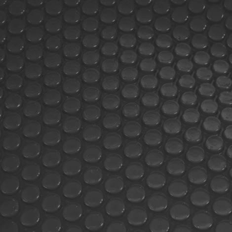 Pool-Abdeckung Abdeckplane Wärmeplane Solarplane Solarabdeckung, Stärke: 400 µm ~ rund 4,57m schwarz