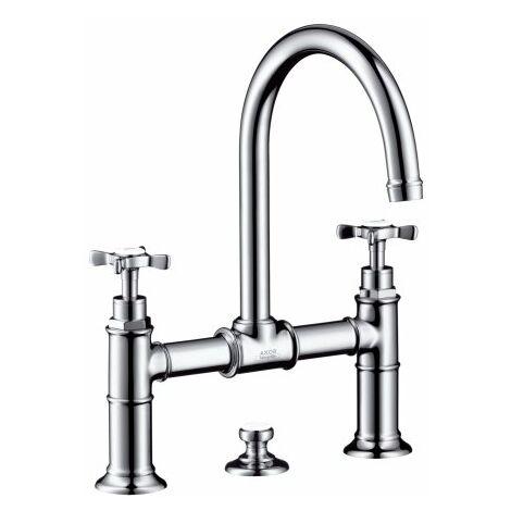 Hansgrohe Axor Montreux mitigeur lavabo 2 poignées 220, vidage escamotable - 16510000