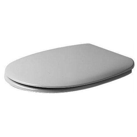 Duravit Siège de WC Charnières Duraplus en plastique, blanc - 0066300000