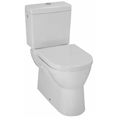 WC à chasse plate à poser PRO, sortie horizontale/verticale, 360x670, Coloris: Blanc - H8249590000001
