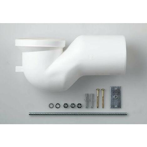 Laufen Courir avec sortie verticale Coude de sortie spécial pour distance murale 220-265 mm - H8990270000001